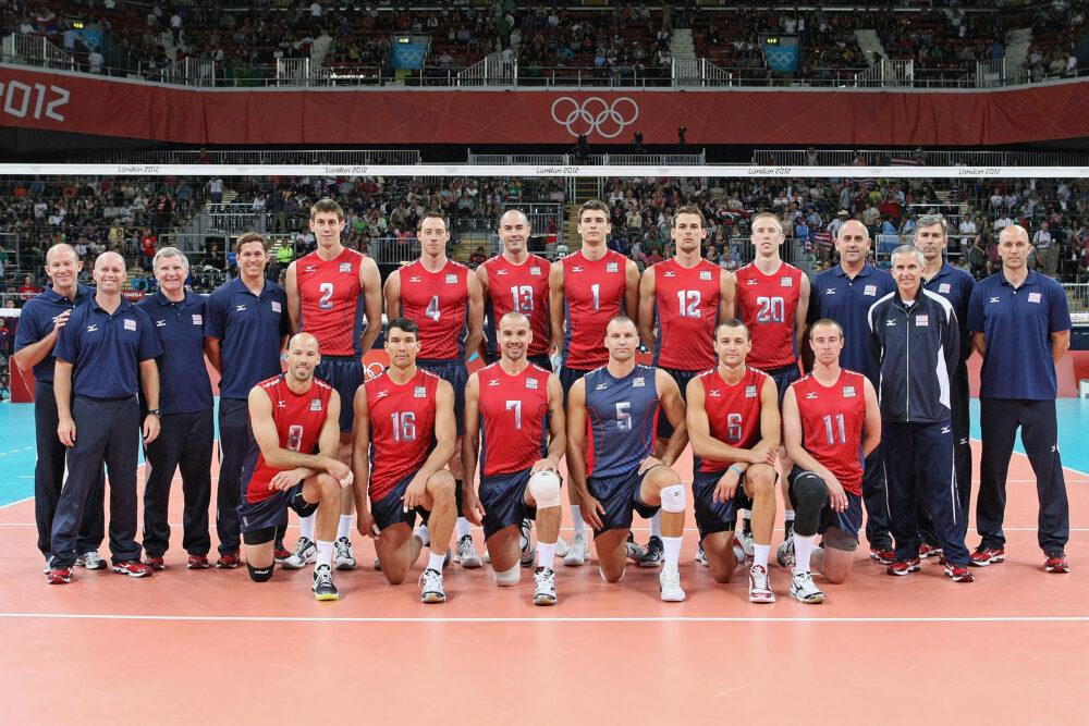 アメリカ,2012年ロンドンオリンピック,バレーボール