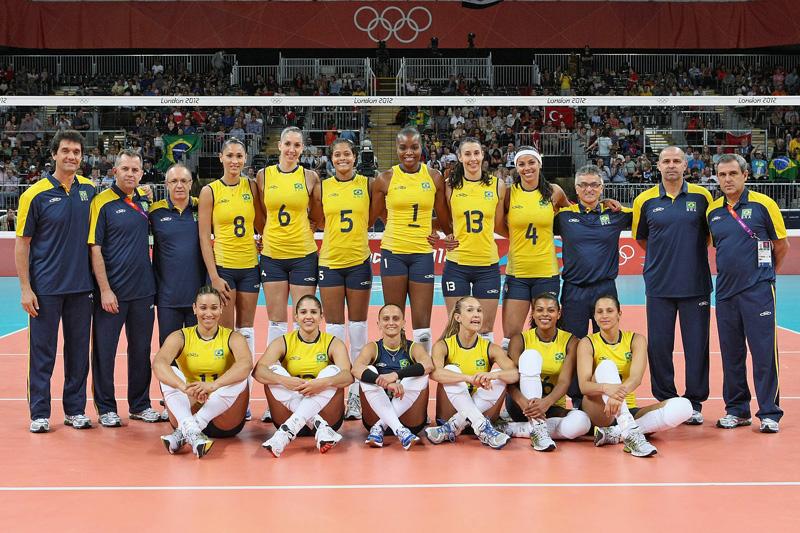 ブラジル女子,2012年ロンドンオリンピック,バレーボール