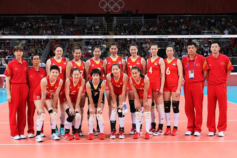 中国女子,2012年ロンドンオリンピック,バレーボール