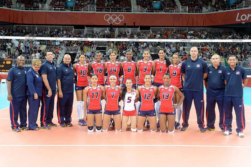 ドミニカ女子,2012年ロンドンオリンピック,バレーボール