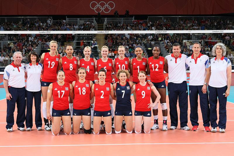 イギリス女子,2012年ロンドンオリンピック,バレーボール