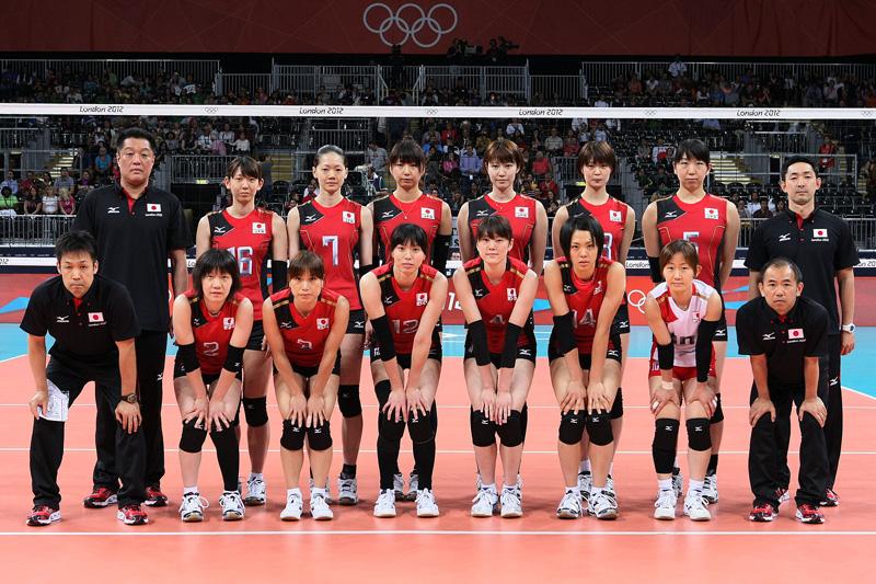 日本女子,2012年ロンドンオリンピック,バレーボール