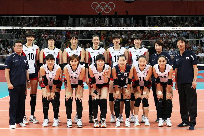 韓国女子,2012年ロンドンオリンピック,バレーボール