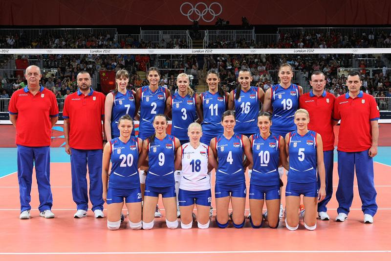セルビア女子,2012年ロンドンオリンピック,バレーボール