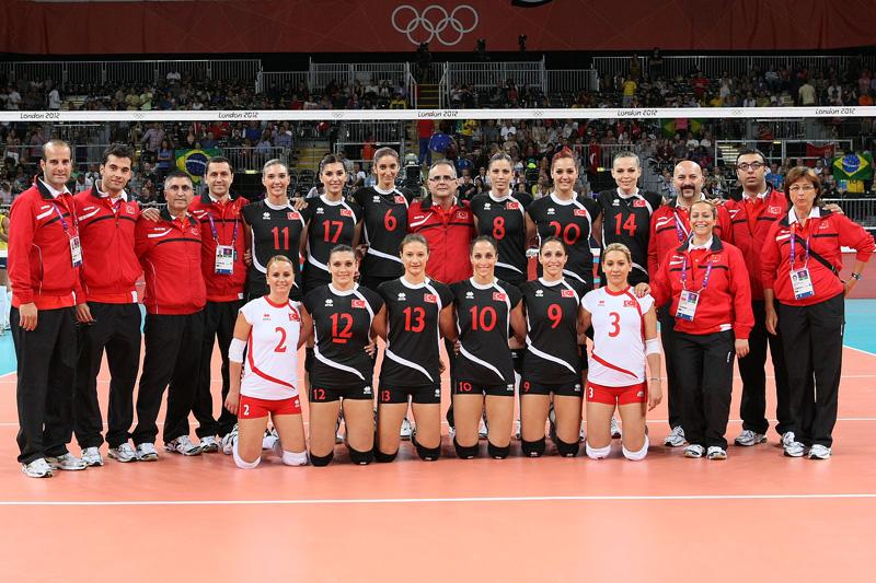 トルコ女子,2012年ロンドンオリンピック,バレーボール