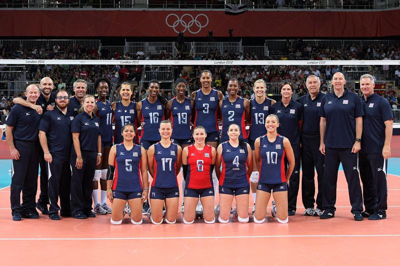 アメリカ女子,2012年ロンドンオリンピック,バレーボール