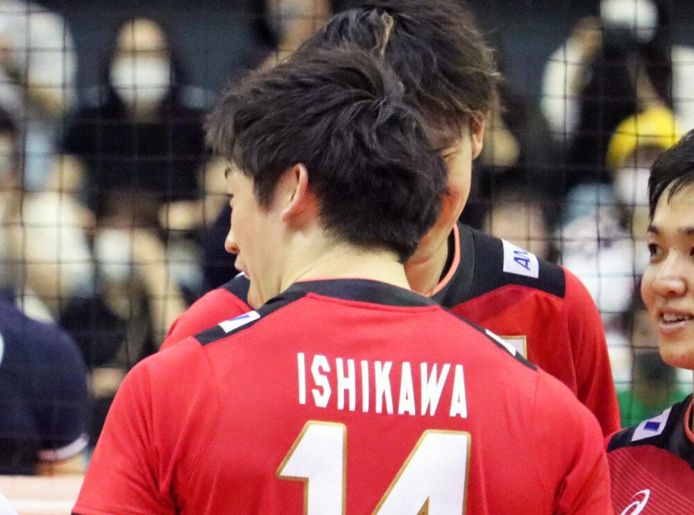バレーボール選手、石川祐希選手、日本代表