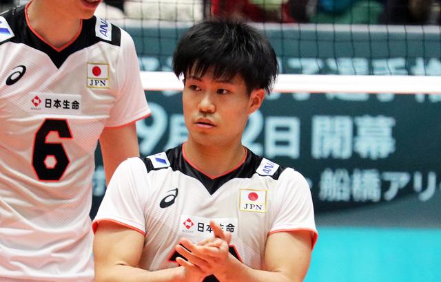バレーボール選手、関田誠大、せきたまさひろ