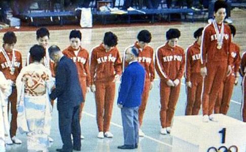 東洋の魔女,全日本代表バレーボール,歴代オリンピック出場,五輪選手