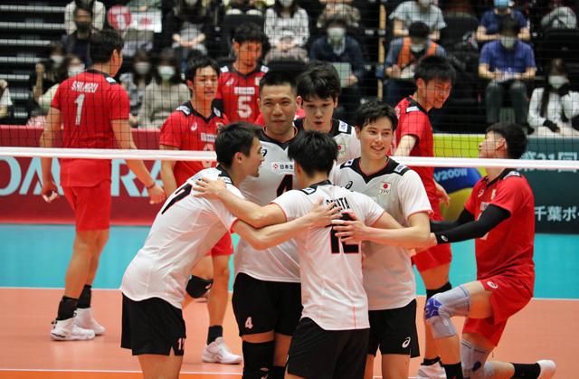 バレーボール全日本代表男子
