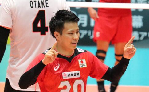 バレーボール選手、山本智大、やまもとともひろ
