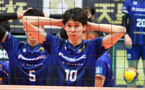 バレーボール山内晶大選手,パナソニックパンサーズ©スポーツファン.net