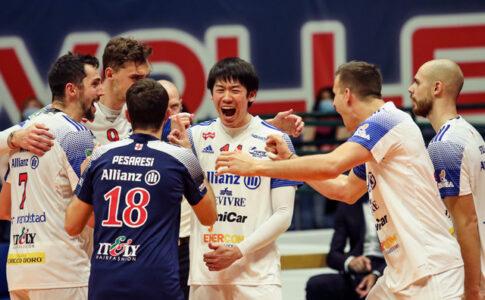 バレーボール選手、石川祐希選手、イタリア、セリエA、パワーバレーミラノ